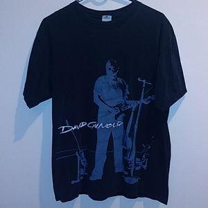 David Gilmour Pink Floyd Concert Shirt Size Large